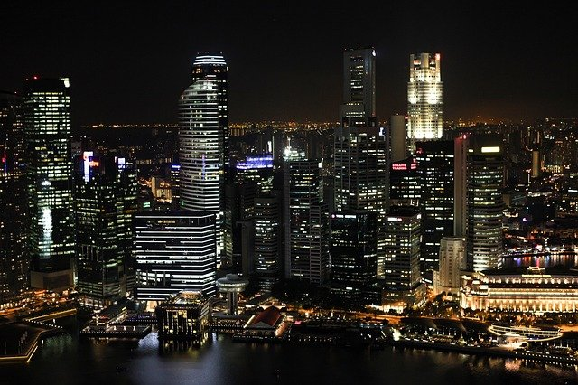 A view of Singapore, one of the most visited Asian country