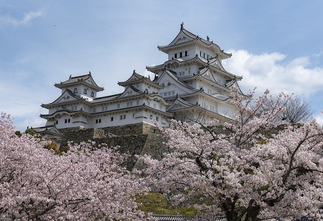 Himeji Castle in Japan, the third most visited Asian country